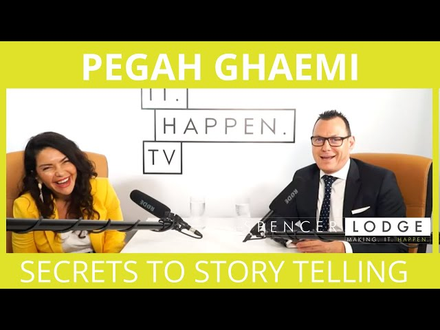 Pegah Ghaemi: Award-winning filmmaker on creativity, storytelling and the creative industry