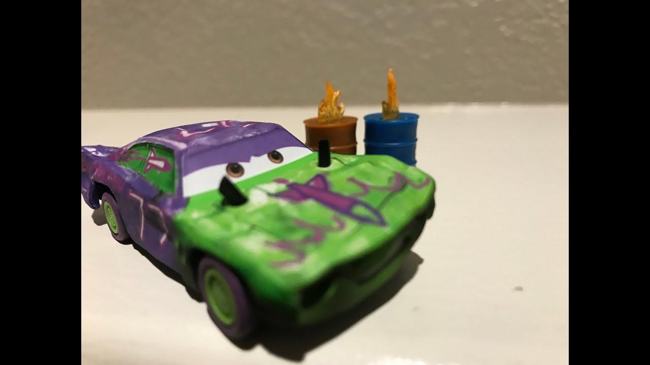 Mattel Pixar Cars 3 Liability W Synthetic Rubber Tires Die Cast