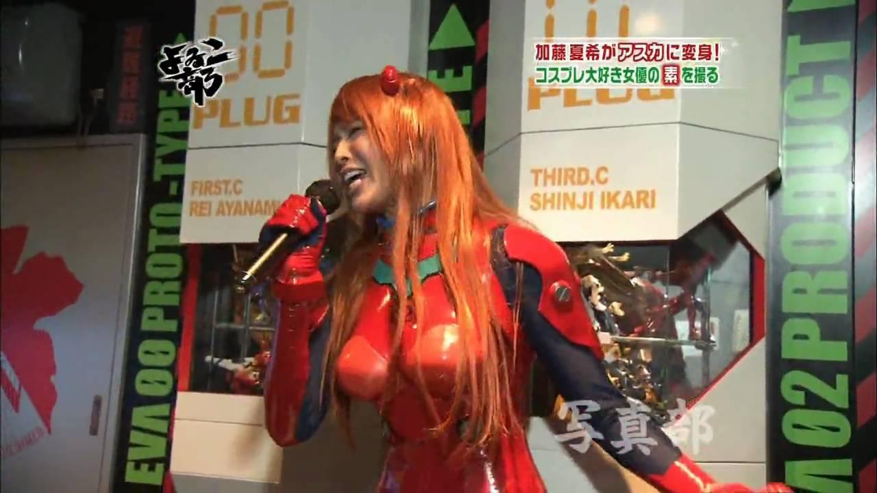 熱唱している加藤夏希