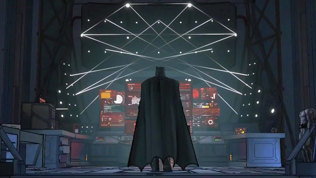 Batman The Telltale Series The Batcave Hd Youtube