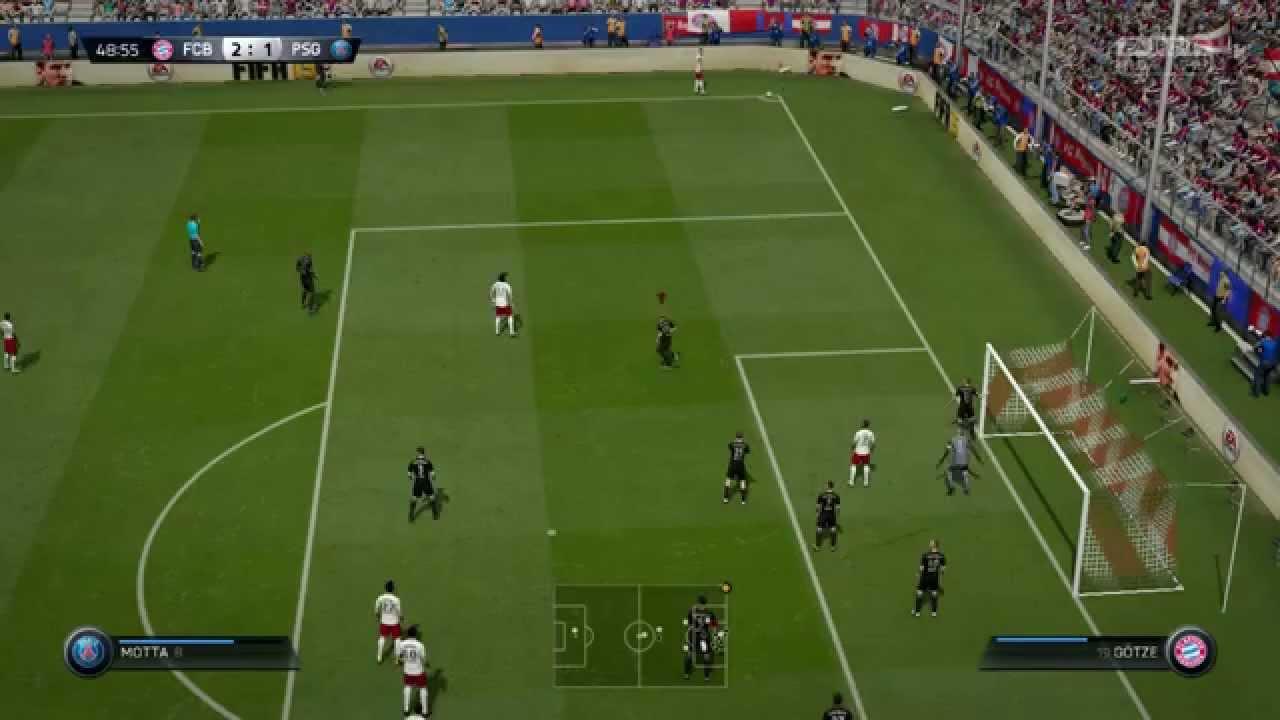 Paris Saint Germain Vs Bayern München