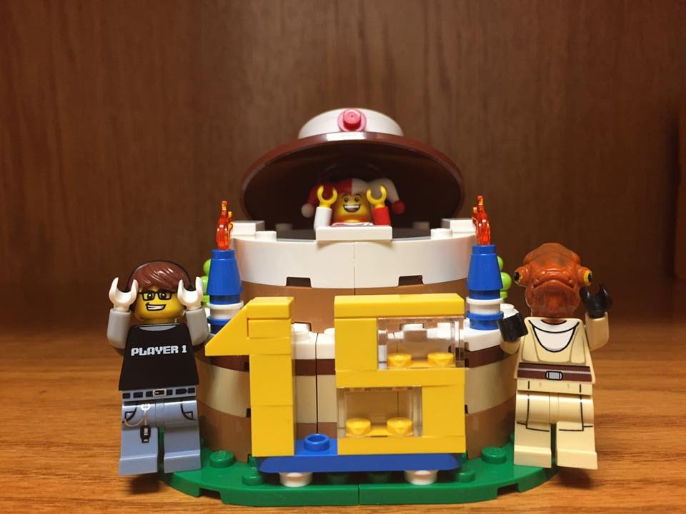 LEGO Birthday Cake Set Review With Special Star Wars Guests
