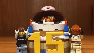 LEGO Birthday Cake Set Review!! with Special Star Wars Guests!
