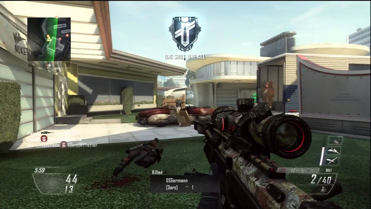 Nuketown 2025 Gameplay - All Snipers Test ! 1080p.
