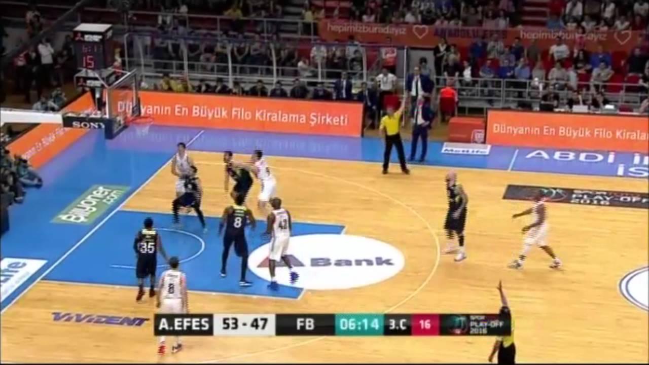 Anadolu Efes - Fenerbahçe Final Serisi 2. Maç - Üçlükler