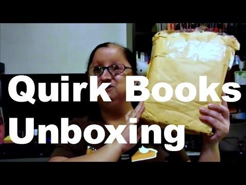 Quirk Books Unboxing