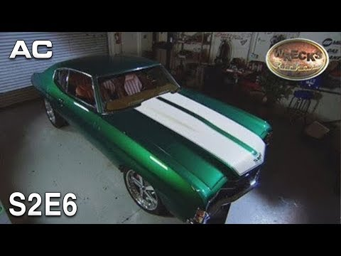 Wrecks To Riches S02e06 72 Chevelle Quot The Green Car