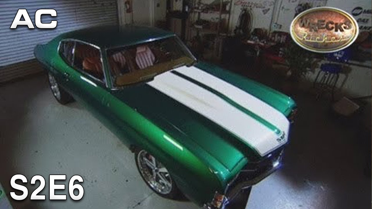 "Wrecks to Riches | S2E6 | 72 Chevelle ""The Green Car"""