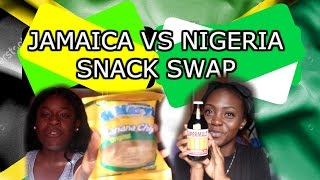 JAMAICA VS NIGERIA SNACK SWAP