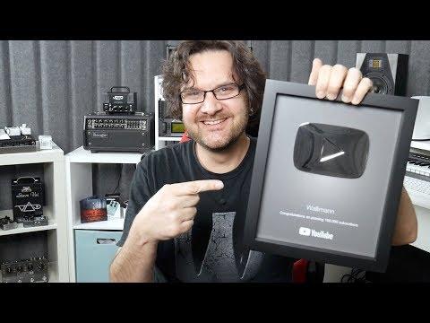 Youtube 100k Award - Thank You!