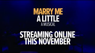 Marry Me A Little starring Rob Houchen & Celinde Schoenmaker | Streaming this November! | Sondheim