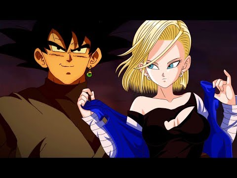 Goku Black X Android 18 (Face Reveal)
