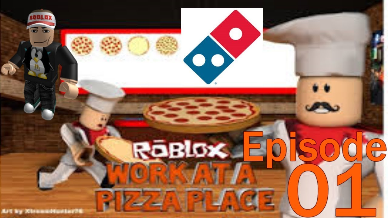 Roblox Work At A Pizza Place Ep 1 Hired By Domino S Car Crashes