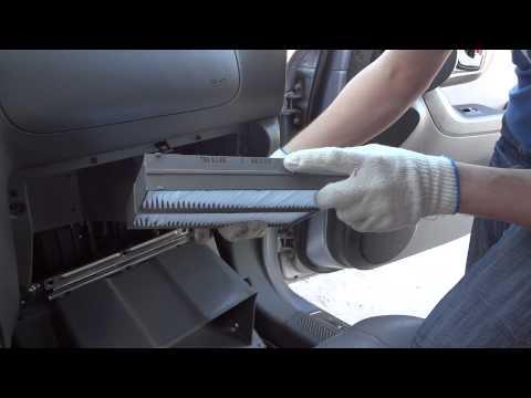 Как поменять салонный фильтр на хендай терракан видео