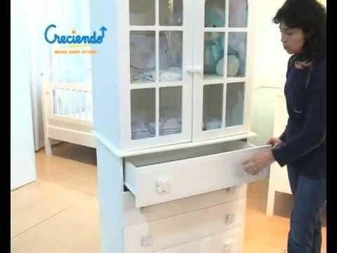 Muebles para el cuarto de tu bebé. Cómodas, Cambiadores, Roperitos y ...