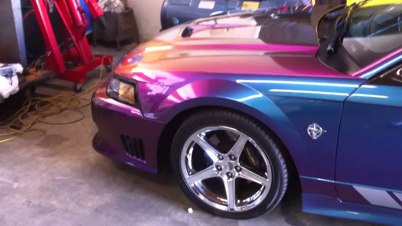 1999 Saleen Mustang S351 Color Changing Speedster Youtube