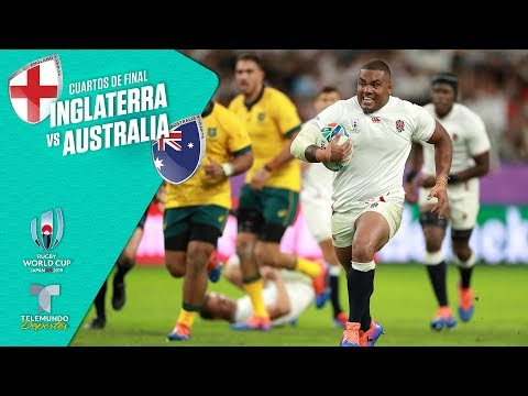 Inglaterra Vs. Australia: 40-16 Highlights | Rugby World Cup 2019 | Telemundo Deportes