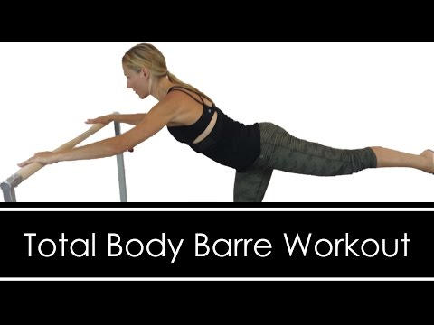 Total Body Barre Workout: FULL LENGTH: AT HOME