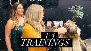 1:1 EXTENSION TRAININGS!