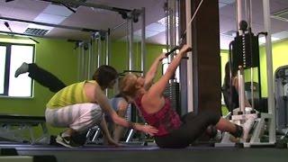 Тренировки в тренажерном зале: дыхание, упражнения, ошибки, защита позвоночника.