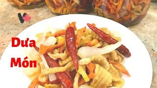 Cách Làm Dưa Món Tại Nhà Canada - How to Make Pickled Dried Vegetables