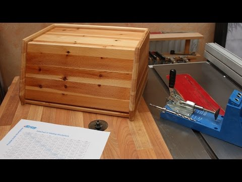 Routing, Bisuits, Pocket Hole Joinery - and a Bread Bin