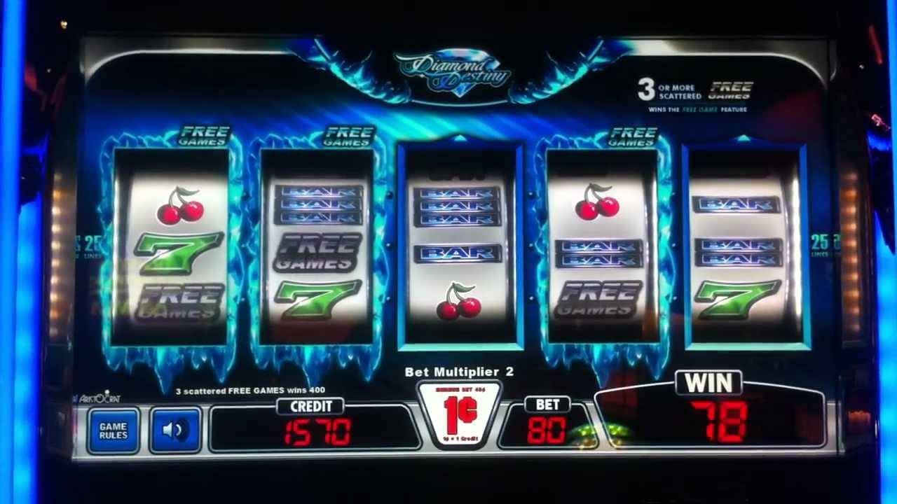 Diamond destiny casino slot granite falls casino pool