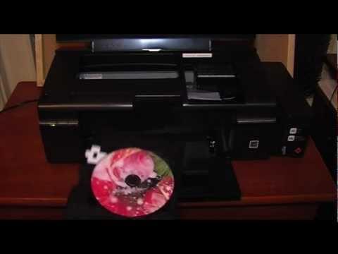 Epson L800 тест печать, печать фото и на DVD диске (2 часть)