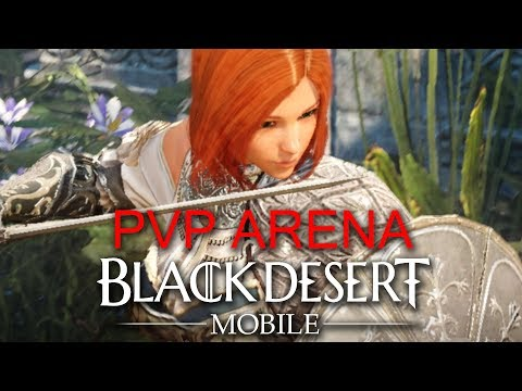 Black Desert Mobile PvP Gameplay Group Arena