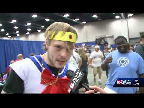 Locals enjoy a taste of cosplay, comiccon
