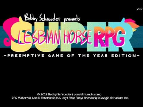 Let's Play Super Lesbian Horse RPG #01 - Friendship is Dungeons