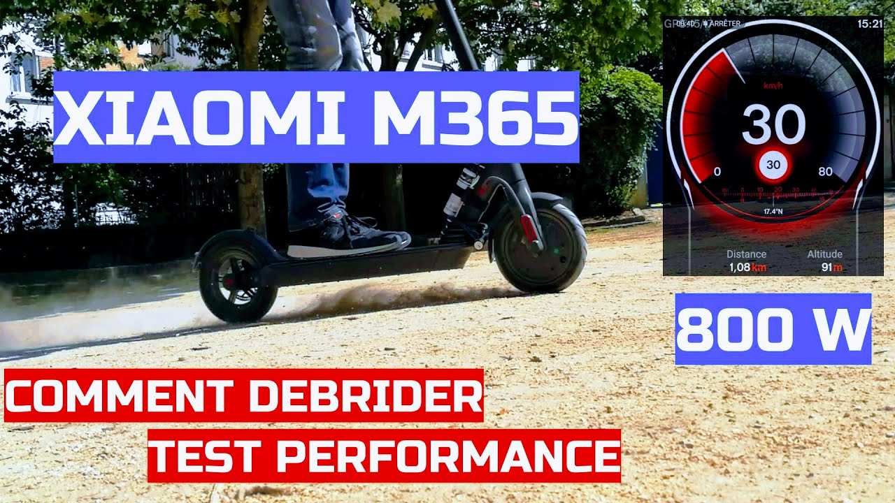 xiaomi m365 comment la d brider test complet vitesse. Black Bedroom Furniture Sets. Home Design Ideas