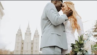 The Bride & Groom Had 4 DIFFERENT WEDDING OUTFITS! |  Katrina & Louis | Utah Wedding