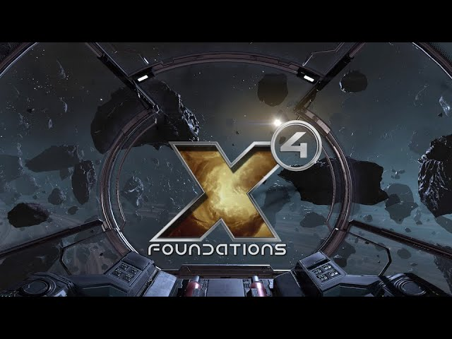 First X4: Foundations Gameplay Footage Revealed - Release on