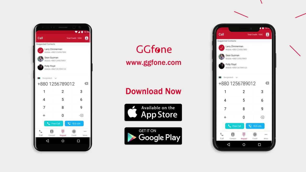 International Free Phone Calling App Worldwide by GGfone