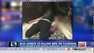 Florida man kills his wife - shares picture and post on facebook - new august 11th 2013