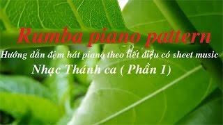 Rumba Piano Pattern _ Hướng dẫn đàn điệu Rumba trên Piano(free sheet music)