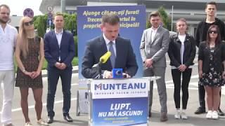 Candidatul PL, Valeriu Munteanu, conferinţă din 24 aprilie 2018