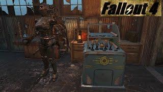 Fallout 4 Пять пупсов. Напарник Силач. Убийственная KL-E-O.