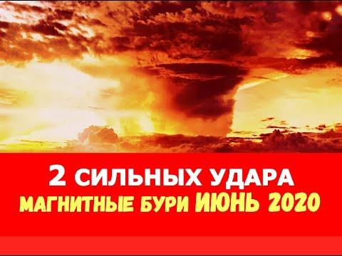 Магнитные бури в июне 2020 года/Расписание, неблагоприятные дни