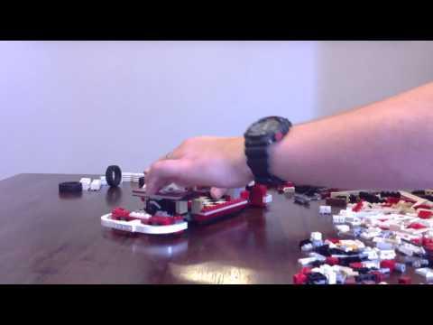 Lego 10220 Volkswagen (VW) T1 Camper Van. time lapse build