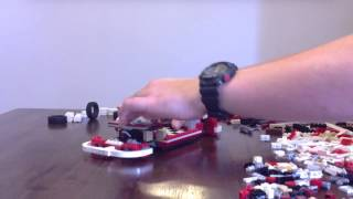 Lego 10220 Volkswagen (vw) T1 Camper Van. Time Lapse Build
