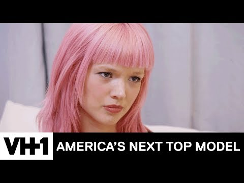 Tyra Banks Helps Liz Harlan Makes A Difficult Decision | America's Next Top Model