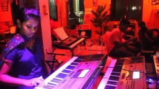 Minnale nee (May maadham) Instrumental - Anumitha Rachel - Mylees Academy
