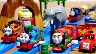 カプセルプラレール 映画 きかんしゃトーマス GO!GO!地球まるごとアドベンチャー編 全17種 Thomas&Friends BIG WORLD! BIG ADVENTURES!