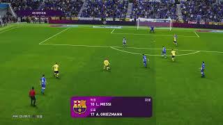 PES 라리가 2019.2020 알라베스 vs 바르셀로…