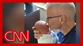 Anderson Cooper announces he is a father