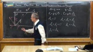 Урок 282. Закон Фарадея для электромагнитной индукции