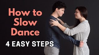 How to Slow Daฑce for Wedding | 4 Easy Steps for Beginners