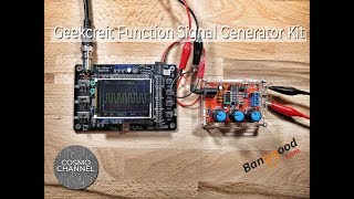 How to assemble Geekcreit XR2206 Function Signal Generator Kit 1HZ-1MHZ DIY